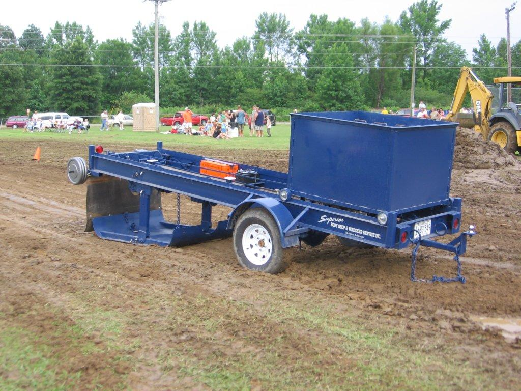 Grand Prairie Mini Tractor Pullers – Garden Tractor Pulling Sled Plans